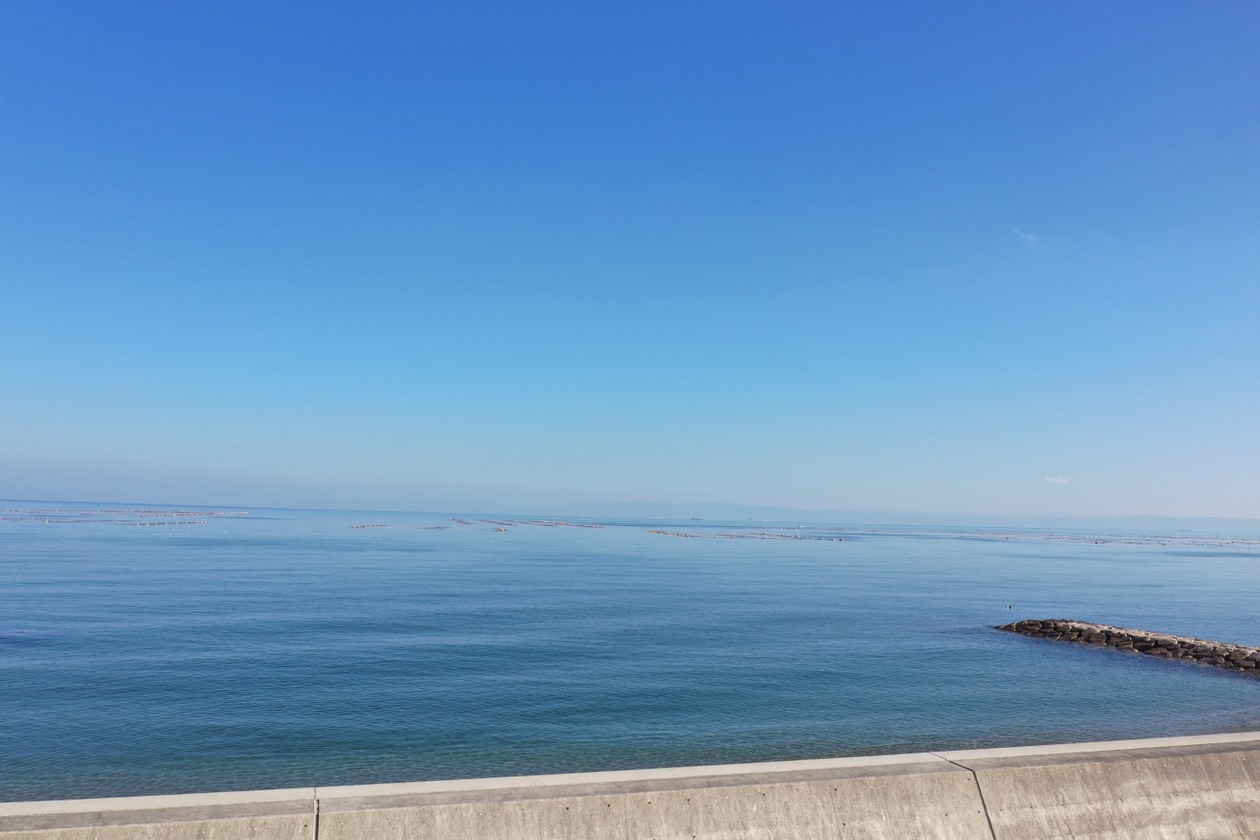 淡路市久留麻で海が見える土地を販売しています!