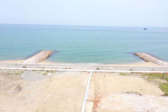 淡路島の海が見える土地