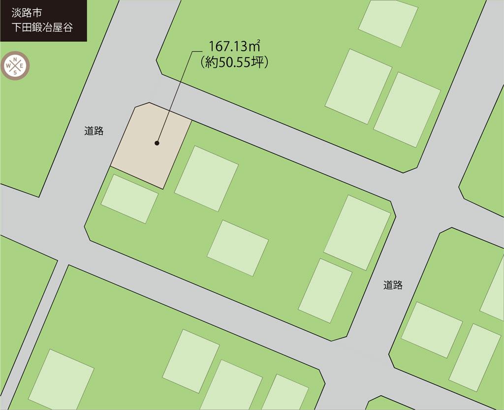 淡路市下田にある土地を販売しています!